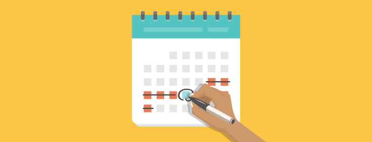 Scheduling Outings: Needing Time to Prepare & Recover