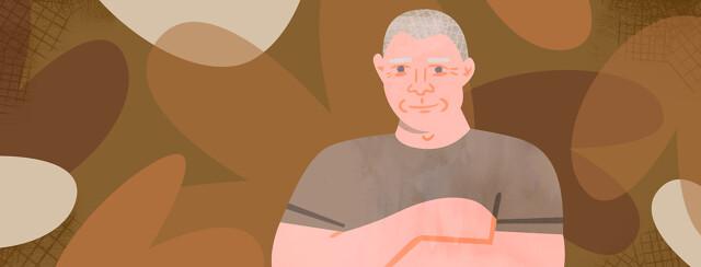 Portrait of community member John
