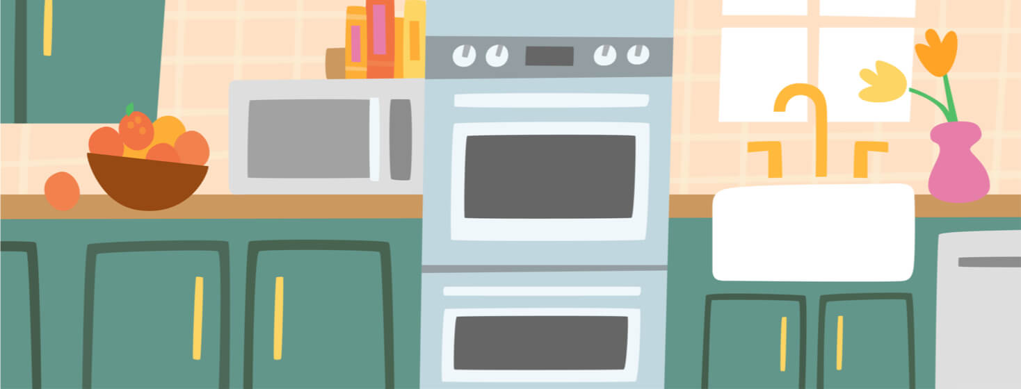 Kitchen with accessible arthritis-friendly appliances